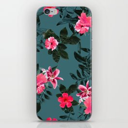 FLORAL PATTERN XP iPhone Skin