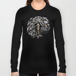 Mermaid in Monaco Long Sleeve T-shirt