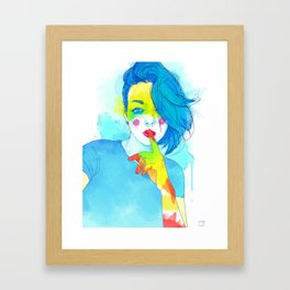 Colorful Kaya Framed Art Print