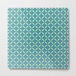 Morroco Mosaic Metal Print