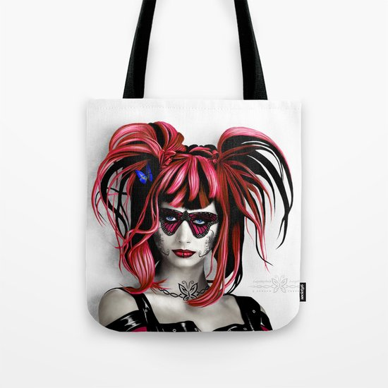 A Real Butterfly Girl Tote Bag