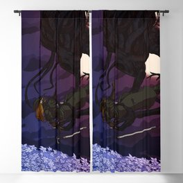 Bloodborne Child of the Moon Presence Blackout Curtain