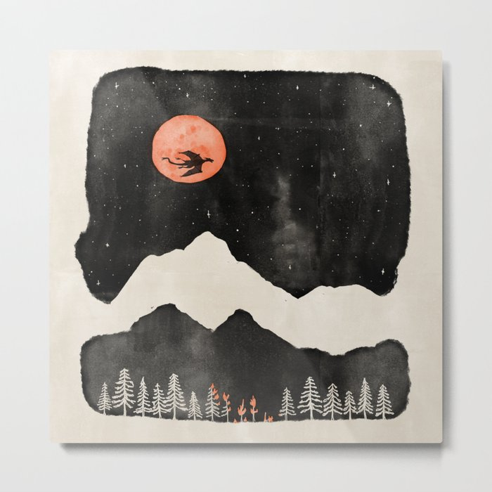 Hunter's Moon... Metal Print
