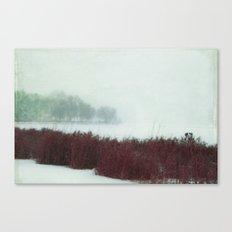 Muffled Canvas Print