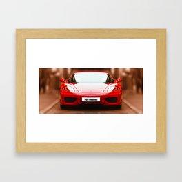Ferrari 360 Modena Framed Art Print