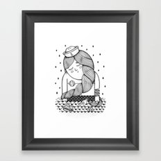 Amour Éternel (Elle) Framed Art Print