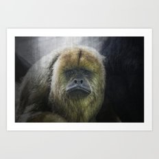 Emotionally Expressed Art Print
