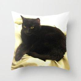 Queen Kitty 2795 Throw Pillow