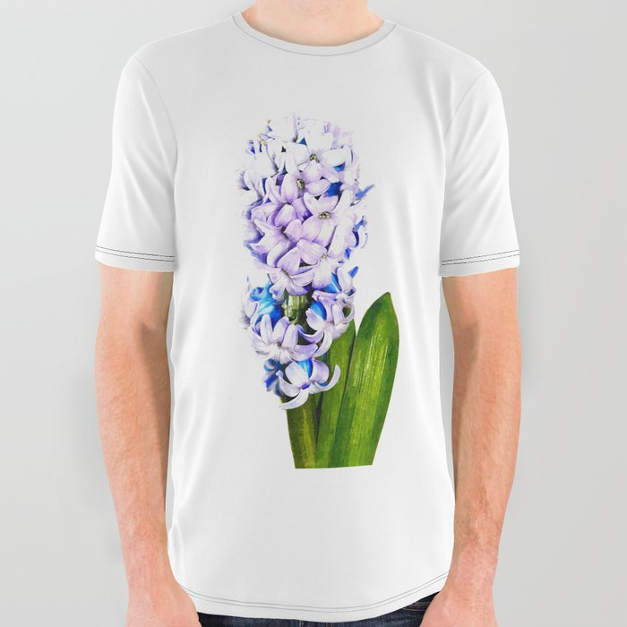 Hyacinth Illustration All Over Graphic Tee