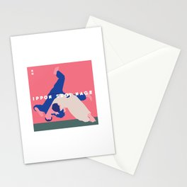 Ippon Seoi Nage Stationery Cards