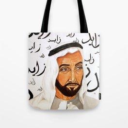 Baba Zayed Tote Bag