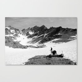 Anderson Glacier, Olympic National Park Canvas Print