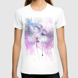 "Watercolor Painting of Picture ""Passion"" T-shirt"