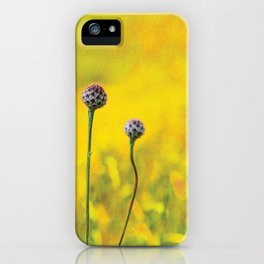 Summer ~ yellow iPhone Case