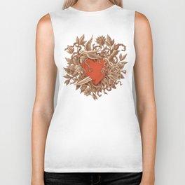 Heart of Thorns  Biker Tank