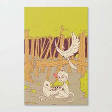 Caelum and the Lost Ones Canvas Print