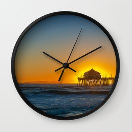 The Sun in Ruby's Wall Clock