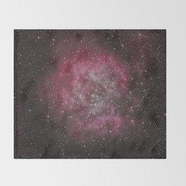 Rosette Nebula #2 Throw Blanket