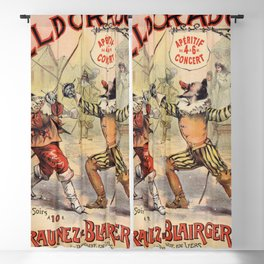 The Duellists of the Old Times Blackout Curtain