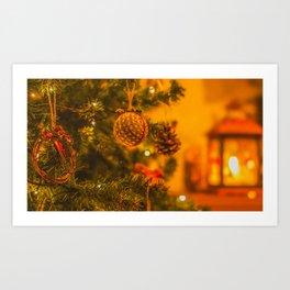 Christmas Time. Art Print