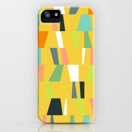 Modern Geometric 39 iPhone Case
