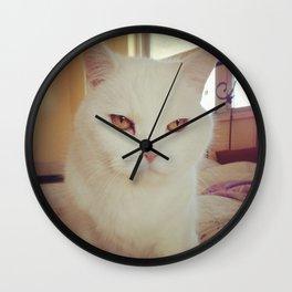 Cleo The Cat Wall Clock