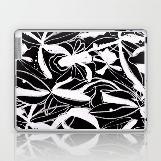 Snowy Forest II Laptop & iPad Skin