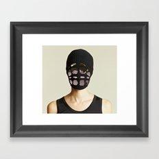 GHOSTRIDE Framed Art Print