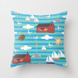 A Rockport Original Throw Pillow