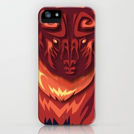 """Mathuin in Vector"" by Paper Laine iPhone Case"