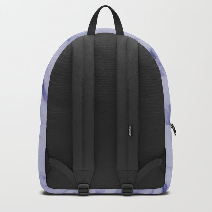 Indigo Blue Marble Backpack