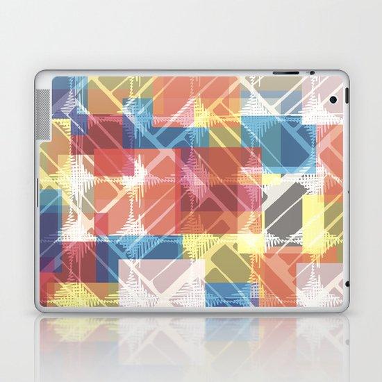 squares n holes... Laptop & iPad Skin