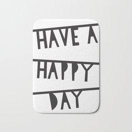 Happy day Bath Mat