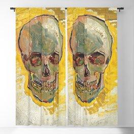 Vincent Van Gogh Skull Blackout Curtain