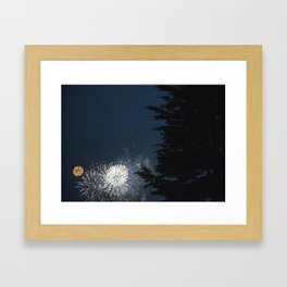 Kaboom! Framed Art Print