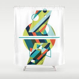 Between Survival & Disaster Shower Curtain