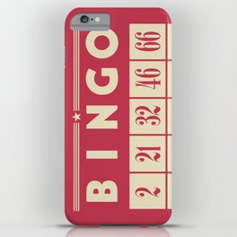 Bingo! iPhone Case