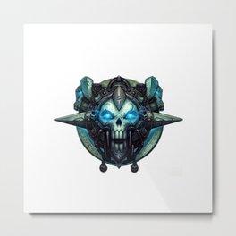 Death Knight Sigil Metal Print