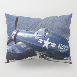 Vintage Historical World War 2 Navy Airplane Pillow Sham
