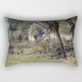 Theodore Robinson Willows Rectangular Pillow