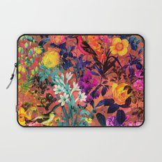 Floral and Birds II Laptop Sleeve
