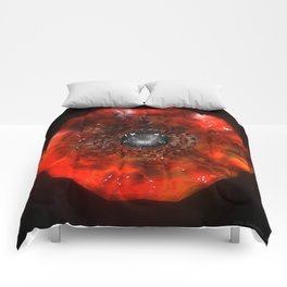 The Eye Of Cyma: Fire And Ice - Frame 40 Comforters