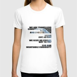 Travellers - Explorers quote T-shirt