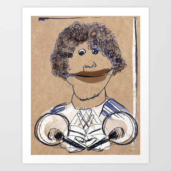 Hey, hey, it's Franklin Art Print