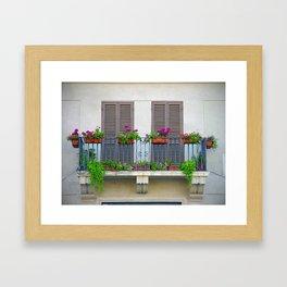 Piazza Navona Framed Art Print
