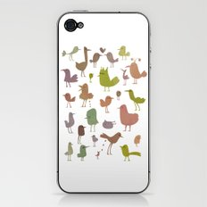 Birdies iPhone & iPod Skin
