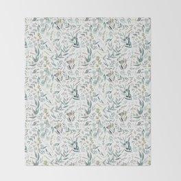 Little Eucalyptus Throw Blanket