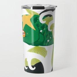 Astro Koi Green Travel Mug