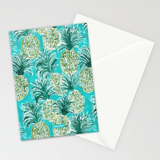 PINEAPPLE O'CLOCK Stationery Cards