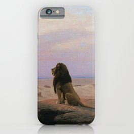 Jean-Leon Gerome - The two majesties iPhone Case